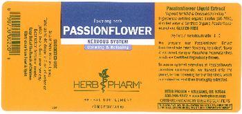 Herb Pharm Passionflower - herbal supplement