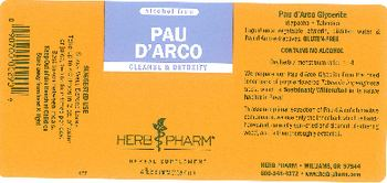 Herb Pharm Pau D'Arco - herbal supplement