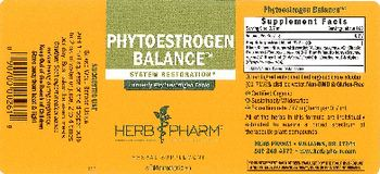 Herb Pharm Phytoestrogen Balance - herbal supplement