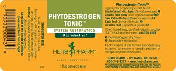 Herb Pharm Phytoestrogen Tonic - herbal supplement