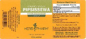Herb Pharm Pipsissewa - herbal supplement