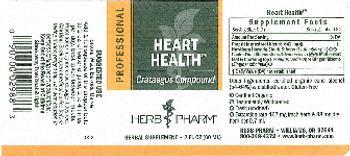 Herb Pharm Professional Heart Health - herbal supplement