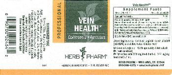 Herb Pharm Professional Vein Health - herbal supplement