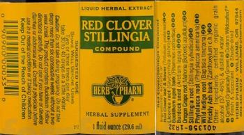 Herb Pharm Red Cover Stillingia Compound - herbal supplement