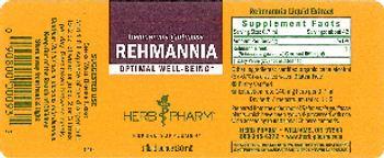 Herb Pharm Rehmannia - herbal supplement