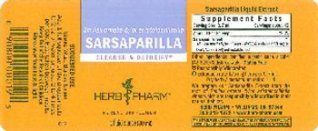 Herb Pharm Sarsaparilla - herbal supplement