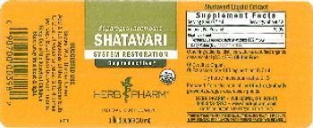 Herb Pharm Shatavari - herbal supplement