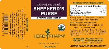 Herb Pharm Sheperd's Purse - herbal supplement