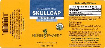 Herb Pharm Skullcap - herbal supplement