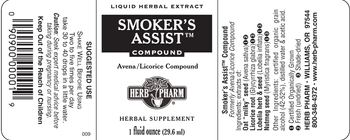 Herb Pharm Smoker's Assist Compound - herbal supplement