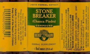 Herb Pharm Stone Breaker (Chanca Piedra) Compound - herbal supplement