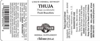 Herb Pharm Thuja - herbal supplement