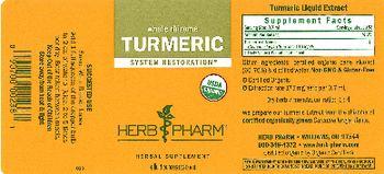 Herb Pharm Turmeric - herbal supplement