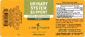 Herb Pharm Urinary System Support - herbal supplement