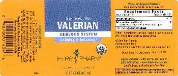 Herb Pharm Valerian - herbal supplement