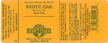 Herb Pharm White Oak - herbal supplement