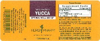 Herb Pharm Yucca - herbal supplement