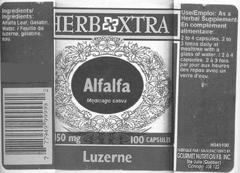 Herb Xtra Alfalfa -