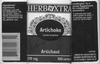Herb Xtra Artichoke -