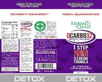 Herbal Clean QCarbo32 Grape Flavor - herbal supplement