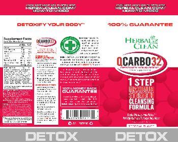 Herbal Clean QCarbo32 Tropical Flavor - herbal supplement