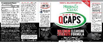 Herbal Clean Super QCaps - herbal supplement