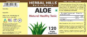 Herbal Hills Aloe - supplement