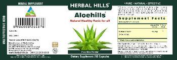 Herbal Hills Aloehills - supplement