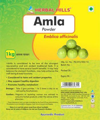 Herbal Hills Amla Powder - ayurvedic product