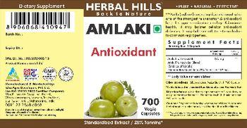 Herbal Hills Amlaki - supplement