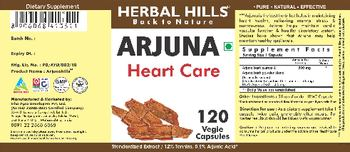 Herbal Hills Arjuna - supplement