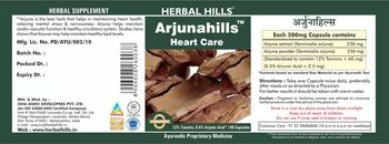 Herbal Hills Arjunahills - herbal supplement