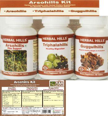 Herbal Hills Arsohills Kit Arsohills - supplement