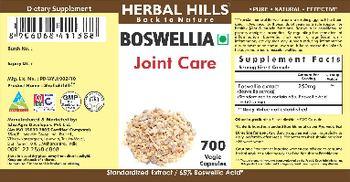 Herbal Hills Boswella - supplement