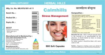Herbal Hills Calmhills - supplement