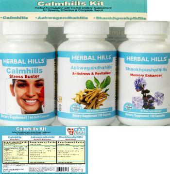 Herbal Hills Calmhills Kit Shankhpushpihills - supplement