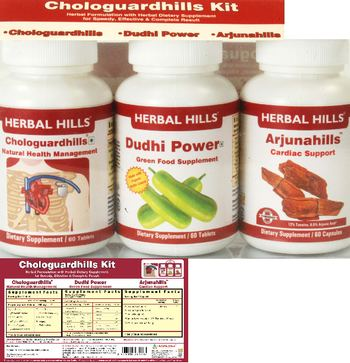 Herbal Hills Chologuardhills Kit Chloroguardhills - supplement