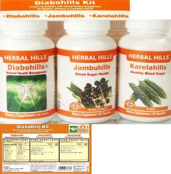 Herbal Hills Diabohills Kit Diabohills - supplement