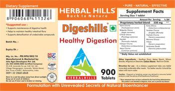 Herbal Hills Digesthills - supplement