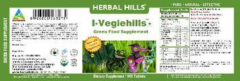 Herbal Hills I-Vegiehills Green Food Supplement - supplement