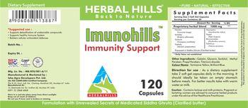 Herbal Hills Immunohills - supplement