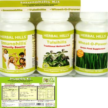 Herbal Hills Imunohills Kit Imunohills - supplement