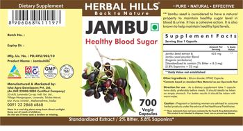 Herbal Hills Jambu - supplement