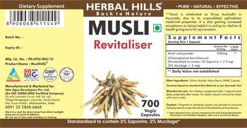 Herbal Hills Musli - supplement