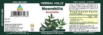 Herbal Hills Neemhills - herbal supplement