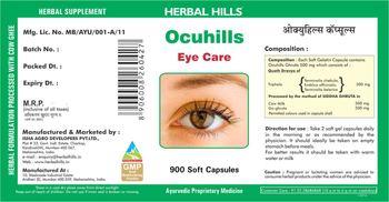 Herbal Hills Ocuhills - herbal supplement
