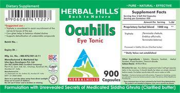 Herbal Hills Ocuhills - supplement