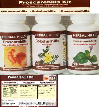 Herbal Hills Proscarehills Kit Gokshurhills - supplement