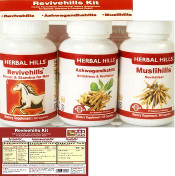 Herbal Hills Revivehills Kit Ashwagandhahills - supplement