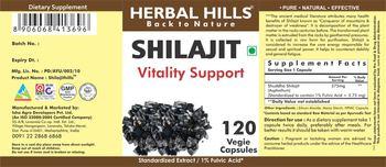 Herbal Hills Shilajit - supplement